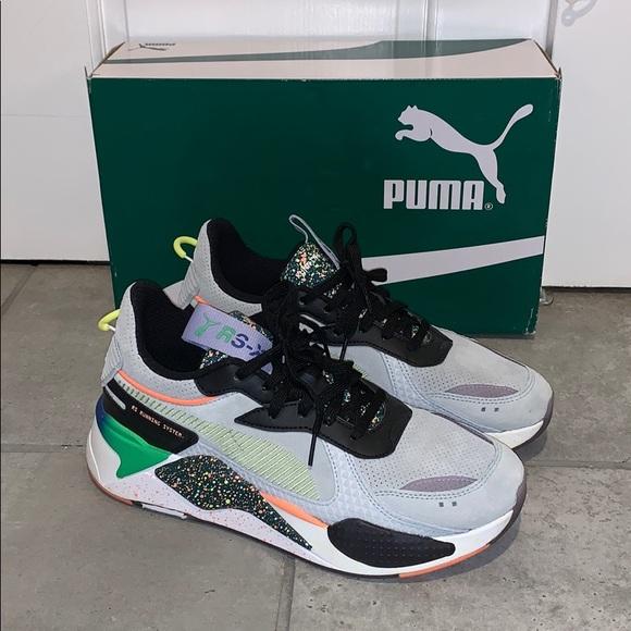 Mens Puma Rsx Fd Running Shoe Size Us